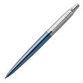 Шариковая ручка Parker Jotter Waterloo Blue CT, синий стержень