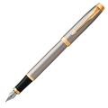 Перьевая ручка Parker IM Brushed Metal GT