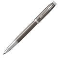 Ручка-роллер Parker IM Premium Dark Espresso Ciselled CT, черный стержень