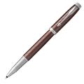 Ручка-роллер Parker IM Premium Brown CT, черный стержень
