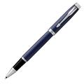 Ручка-роллер Parker IM Metal, Blue CT, черный стержень