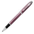 Ручка-роллер IM Metal Light Purple CT, черный стержень