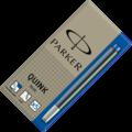 Картриджи для перьевых ручек,цвет синий. 5 шт