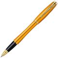 Ручка-роллер Parker Urban Premium Mandarin Yellow, F, черный стержень