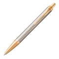 Шариковая ручка Parker IM Warm Silver/Gold GT