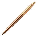 Шариковая ручка Parker Jotter Luxe West End Brushed GT, синий стержень