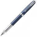 Перьевая ручка Parker Sonnet Secret Blue Shell CT F