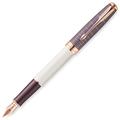 Перьевая ручка Parker Sonnet Contort Purple Cisele PGT