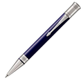 Шариковая ручка Parker Duofold Classic Blue and Black CT