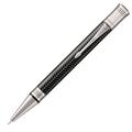 Шариковая ручка Parker Duofold Prestige Black Chevron CT