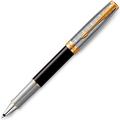 Ручка роллер Parker Sonnet Impression Matte Black GT