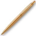 Шариковая ручка Parker Jotter Monochrome XL Gold GT, синий стержень