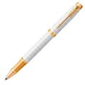 Ручка-роллер Parker IM Premium Pearl GT,черный стержень