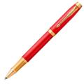 Ручка-роллер Parker IM Premium Red GT,черный стержень