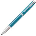 Ручка-роллер Parker IM Premium Blue Grey GT,черный стержень