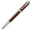Перьевая ручка Parker Duofold Prestige Burgundy Chevron CT