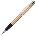 Перьевая ручка Parker Sonnet Pink Gold розовое золото, F, 18 К