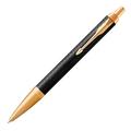 Шариковая ручка Parker IM Premium Black/Gold GT