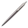 Шариковая ручка Parker Jotter Premium Oxford Grey Pinstripe CT, синий стержень