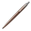 Шариковая ручка Parker Jotter Premium Carlisle Brown Pinstripe CT, синий стержень