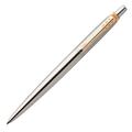 Шариковая ручка Parker Jotter St. Steel GT, синий стержень