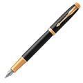 Перьевая ручка Parker IM Premium Black/Gold GT