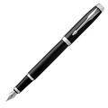 Перьевая ручка Parker IM Black Chrome CT