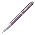 Ручка-роллер Parker IM Premium Dark Violet CT, черный стержень