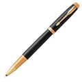 Ручка-роллер Parker IM Premium Black/Gold GT,черный стержень