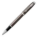 Ручка-роллер Parker IM Dark Espresso CT, черный стержень