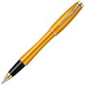 Перьевая ручка Parker Urban Premium - Mandarin Yellow GT, F