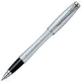 Ручка-роллер Parker Urban Premium Vacumatic Silver-Blue Pearl, черный стержень
