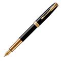 Перьевая ручка Parker Sonnet Black Lacquer GT