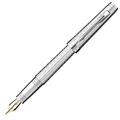 Перьевая ручка Parker Premier DeLuxe Graduated F562, Chiselling ST