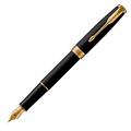 Перьевая ручка Parker Sonnet Matte Black GT